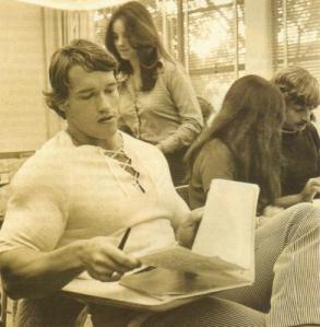 arnie studying